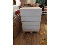 MALM, Chest of 4 drawers, white, 80x100 cm, WAS £70.00 IKEA Warrington, #bargaincorner