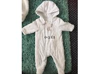 Baby coat 0-3 month mothercare