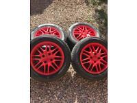 Ford fiesta/focus alloy wheels