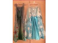 Elsa frozen Disney dress and frozen fever dress