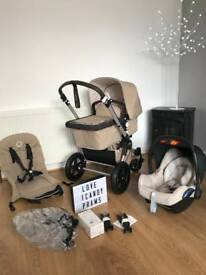 2016 bugaboo cameleon Classic sand with new maxi cosi