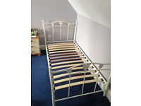 V good condition single bed - sturdy frame £10
