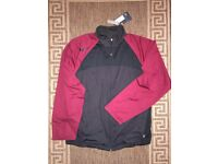 Nike Dri-Fit Men Training Jacket Black Ruby Size S