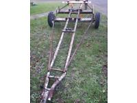 Boat trailer 14 ft project
