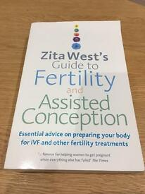 'Zita West's Guide to Fertility and Assisted Conception' RRP £15.99 - new
