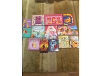 BRAND NEW book bundle Disney etc jigsaw book RRP £45