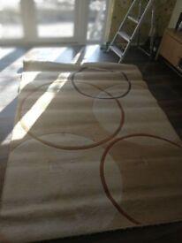 Large living room rug - beige