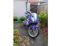 Yamaha 125 yzf R (blue)