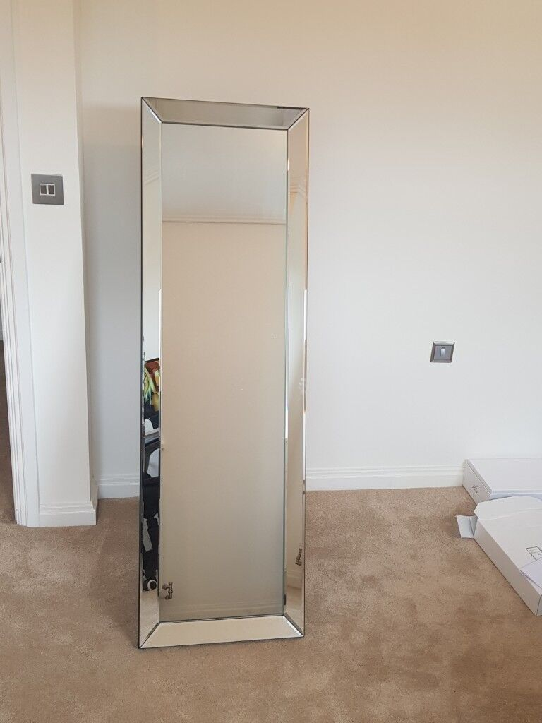 Large Free Standing Mirrored Framed Mirror | in Acton, London | Gumtree