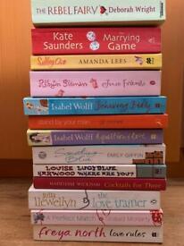 Romantic novels - various authors