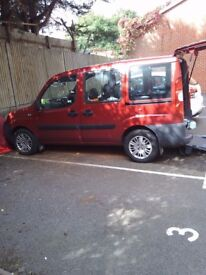 Fiat Doblo 1.4 WHEELCHAIR ACCESSIBLE VEHICLE