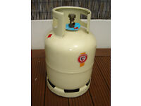 USED AND EMPTY AMTROL-ALFA FRANGAZ FRENCH UN1965 10KG BUTANE GAS BOTTLE