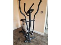 York cross trainer and exercise bike combo