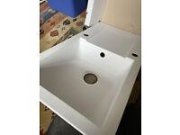 Unused Kitchen Sink and Worktops