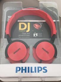 Philips DJ headphones