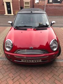 Mini convertible electric roof 1.6