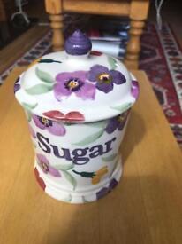 Emma Bridgewater Wallflower 1pint Sugar Storage Jar