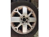 5 Renault alloys with tyres