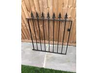 2 Black Iron Gates BRAND NEW