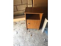 Retro 60s bedside table