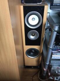 TDL floor standing speakers