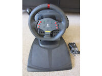 Logitech MOMO Racing Force Feedback Wheel And Pedals for PC USB
