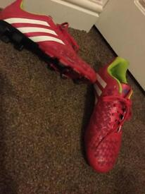 Girls Adidas football boots