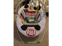 Mamas & Papas Baby Bouncy Chair, Stargaze playmat & cot mobile