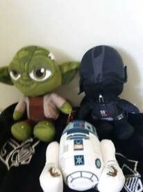 """Star wars 12"""" collectable soft toys"""