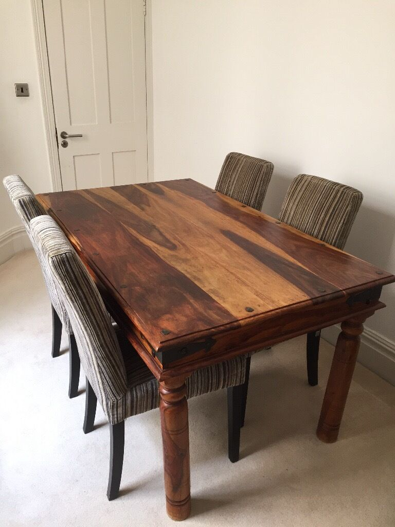Maharani Solid Rosewood Dining Table