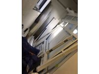 French doors 1770mm wide x 2370mm high