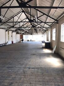 Fabulous Live/Work Loft-style with kitchen, shower & lots of natural light