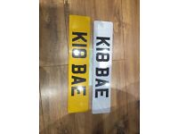 K18 BAE private cherished personalised registration plate number KAte Kayla