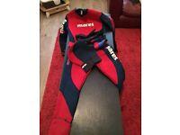 Mares semi dry suit m/l