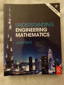 Understanding Engineering Mathematics by John Bird. ISBN 978-0-415-66284-0