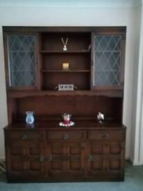 Vintage 60s/70s Display Cabinet