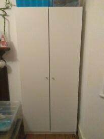 White wardrobe (80x50x180 cm)