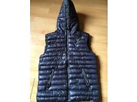 Mens blue inc quilted body warmer new (L) £20