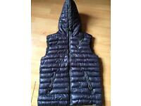 Mens blue inc quilted body warmer (L) £20