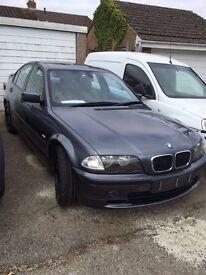 BREAKING BMW E46 2000 320D MANUAL