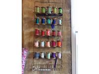 Ribbon display racks