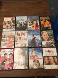 Romance dvd bundles - 12 DVD's