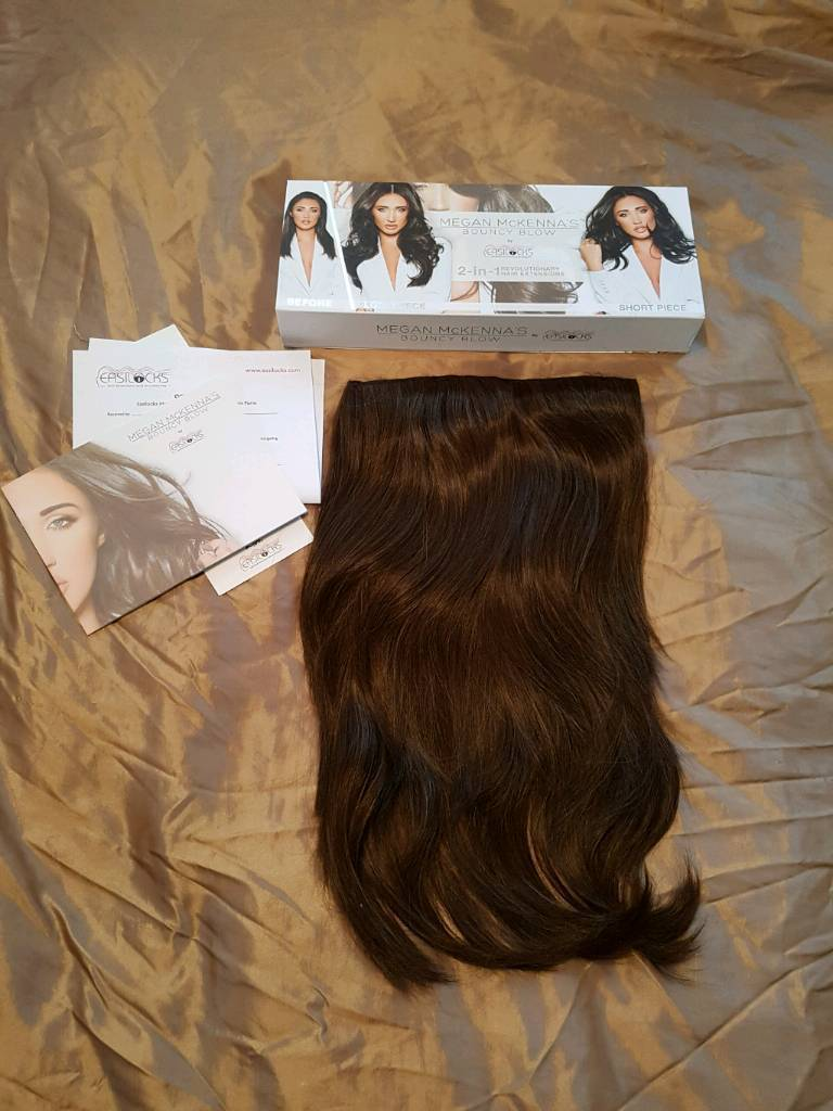 Megan mckenna bouncy blow extensions