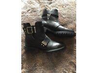 Black Zara Ankle Boots