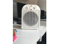 Electric Fan heater.