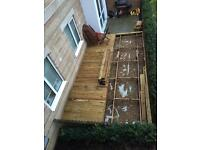 Decking boards for sale.