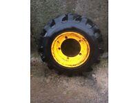 JCB 12.5/80x18 wheel