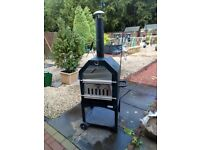 Never been used BBQ pizza oven and smoker