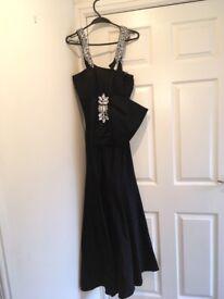 Black evening dress