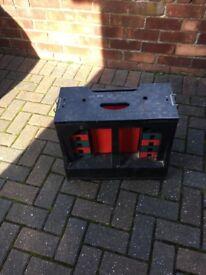 Storage stool come work bench